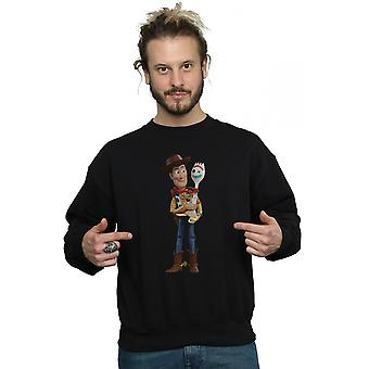 Disney Men's Toy Story 4 Woody And Forky Sweatshirt