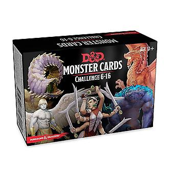Dungeons & Dragons - Monster Deck 6-16 (74 Cards) Card Game