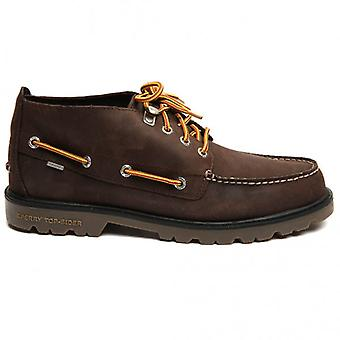 Sperry Topsider Shoes Authentic Original Lug Chukka Waterproof Boot, Brown