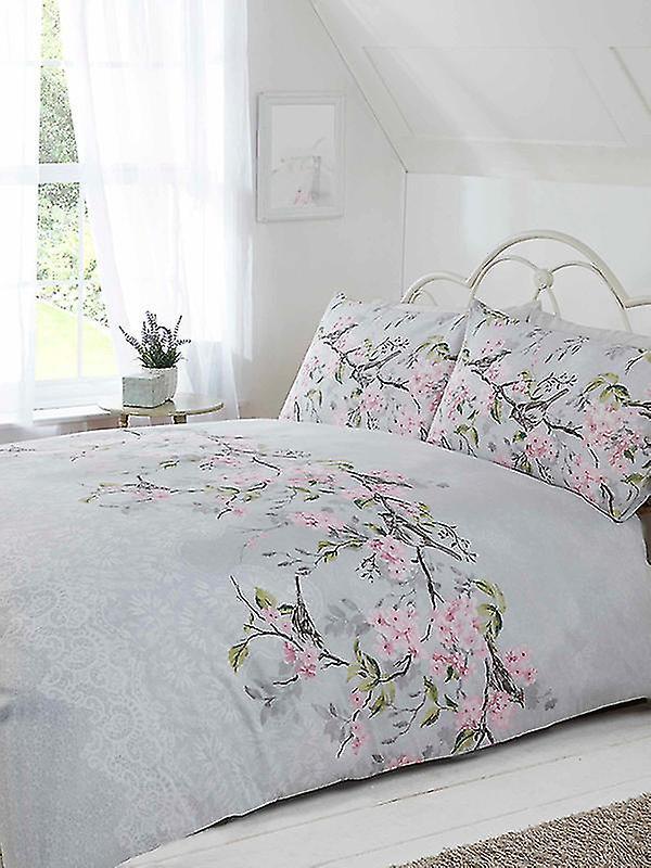 Eloise Floral Duvet Cover Set