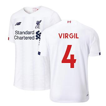 2019-2020 Liverpool Away Football Shirt (Virgil 4)