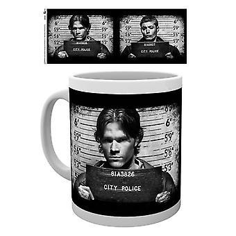 Supernatural Mug Shots Boxed Drinking Mug