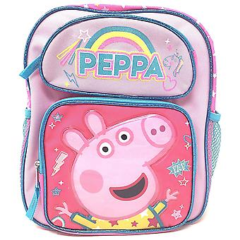 Small Backpack - Peppa Pig - YAY Rainbow Pink 12