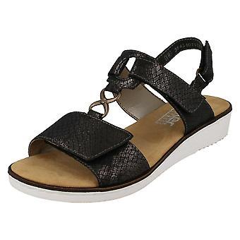 Senhoras Rieker Cunha sandálias 63687