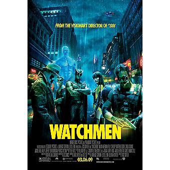 Watchmen Original Movie Poster (2009) - Final Style