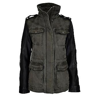 Women's leather jacket Scrambler