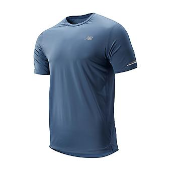 New Balance Mens SS Ice Short Sleeve Crew Neck Sports T Shirt Top