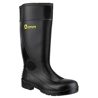 Amblers Safety Mens FS100 Construction Safety Wellington Black