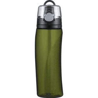 Thermos Intak Hydration Sport Drink Water Bottle In Olive green
