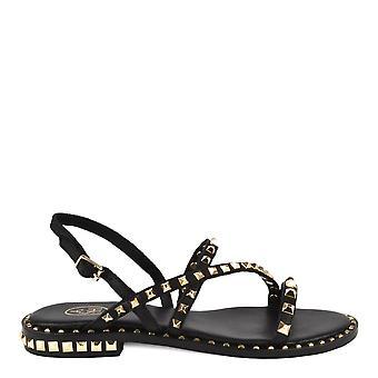 Ash Footwear Peace Black Studded Leather Sandal