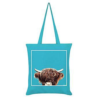 Inquisitive Creatures Highland Tote Bag