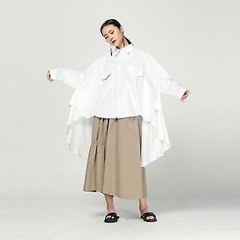 Chiffon onregelmatige zoom blouse
