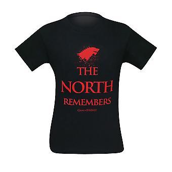 Game of Thrones North muistaa miehet ' s T-paita