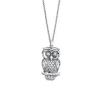 Elli silver Women ' s Owl hängsmycke halsband 925-70 cm 0101471513_70