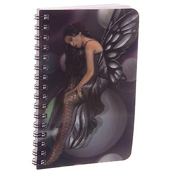 Fairy on Bubbles 3D Notebook by Lisa Parker