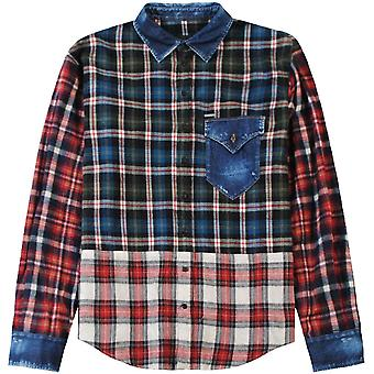 Dsquared2 DSquared2 Check Patterned Shirt