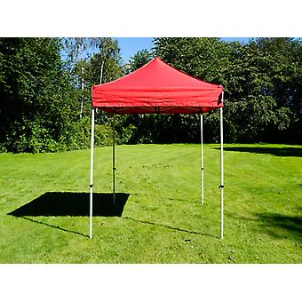 Vouwtent/Easy up tent FleXtents Basic v.2, 2x2m Rood