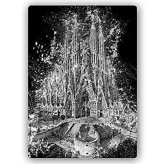 Metal Print, The Sagrada Familia In Barcelona