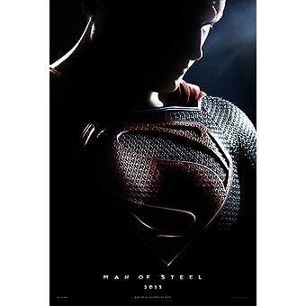 Man Of Steel Poster Double Sided Advance (2012) Original Cinema Poster