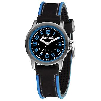 JACQUES FAREL Youth Watch Wristwatch Analog Quartz Boys Kids Silicone SST 333