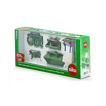 Siku Farmer Front Loader Accessories Green 1:32 3658
