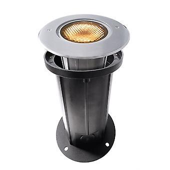 Lampa podłogowa LED wpuszczona COB 12 Miękka 3000K x 173mm srebrny IP67