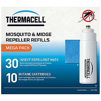 Thermacell White Mega Refill Pack Alfombrillas y Gas