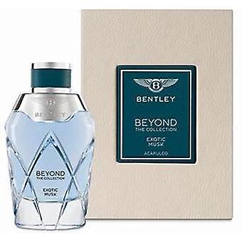 Bentley exotische Musk Eau de parfum 100ml EDP spray