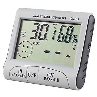 TRIXES Indoor/Outdoor Digital LCD Thermometer and Hygrometer Greenhouse Home