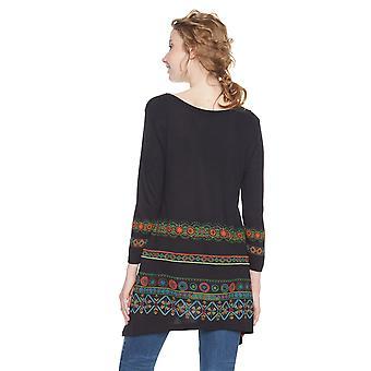 Desigual Women's Aleia Long Sleeved Tunic Top