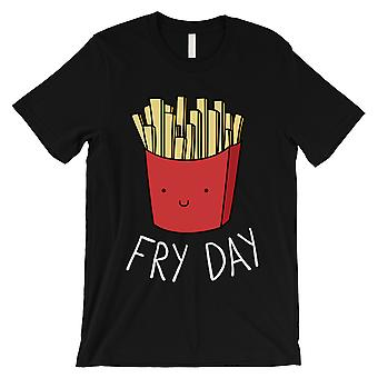 365 Printing Fry Day Mens Black Funny Saying Entertaining Celebration T-Shirt