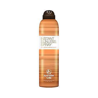 Spray de auto-bronzeamento sem ouro australiano instantâneo (177 ml)