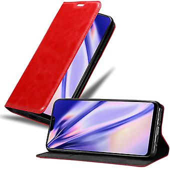 Cadorabo tapauksessa Vivo Y85 tapauksessa tapauksessa kansi - matkapuhelin tapauksessa magneettinen lukko, seistä toiminto ja korttiosasto - Case Cover suojakotelo tapauksessa kirja taitto tyyli