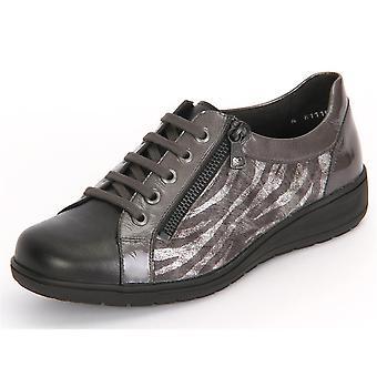 Solidus Kate 001 Anthrazit Perlato Perllack 2900120221 universal all year women shoes