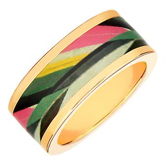 Ring Christian Lacroix jewelry XF21001LD - Ring metal Dor and Email woman