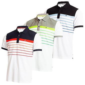 Calvin Klein Herren 2020 Flint Wicking Atmungsaktive Kurzarm Golf Polo Shirt