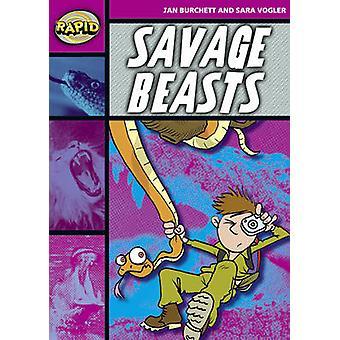 Rapid stage 3 set A-Savage Beasts (serie 1)-9780435908041 boek