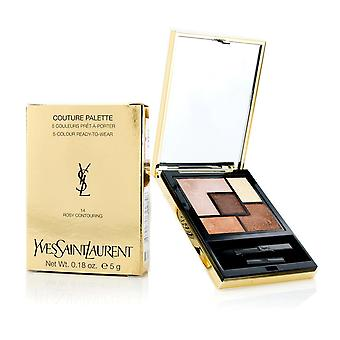 Couture Palette (5 Color Ready To Wear) #14 (Rosy Contouring) 5g/0.18oz