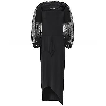 Xenia Design Raso Mesh Overlay Dress