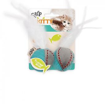 AFP Bolas De Plumas Kitty (kissat, lelut, pehmo & sulka lelut)