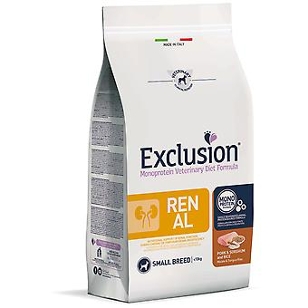 Exclusion Diet Formula Renal Pork & Sorghum and Rice Small  (Dogs , Dog Food , Dry Food)