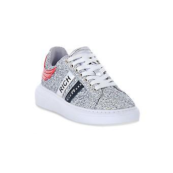 Richmond glitter silver sneakers fashion