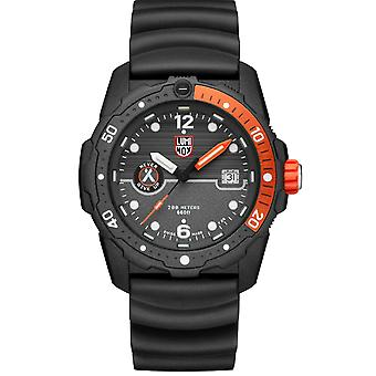 Luminox x Bear Grylls Survival SEA 3720 Série Quartz Black Dial Rubber Strap Men-apos;s Watch XB.3729