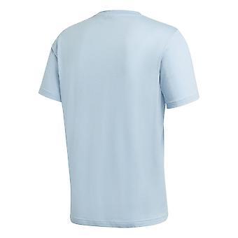 אדידס Trefoil Tee FM3794 אוניברסלי כל השנה גברים חולצת טריקו