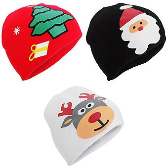 ProClimate Childrens/Kids Christmas Winter Beanie Hat