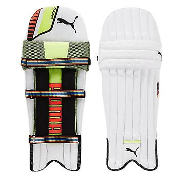 Puma EvoSpeed Cricket Batting Pads Leg Guards White/Black