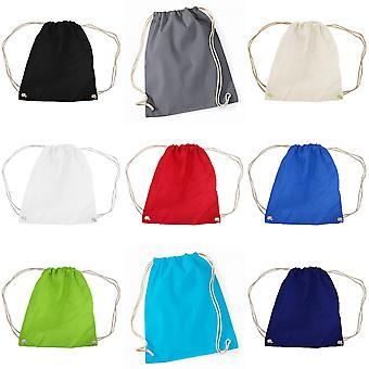 Westford Mill Cotton Gymsac Bag - 12 Litres