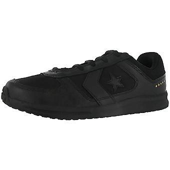 كونفيرس مينز التدافع الجلود المنخفضة الدانتيل أعلى حتى أحذية رياضية أزياء