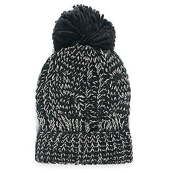 Jewel City Womens/Ladies Cable Knit Beanie