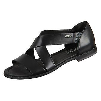 Pikolinos Algar W0X0552preto universal sapatos femininos de verão